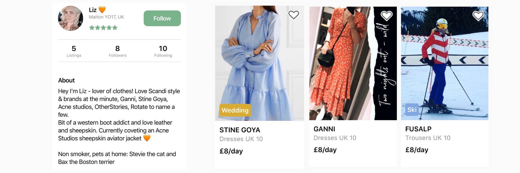 By Rotation fashion rental UK