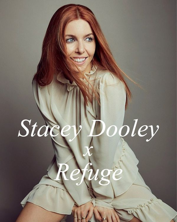 Stacey Dooley x Refuge Against Domestic Violence